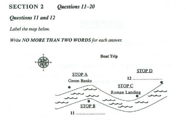 实例讲解雅思听力地图题要怎样攻克图1