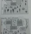 雅思地图题小作文写作满分范文:校园规模变化